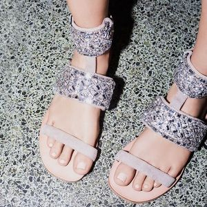 ✨ Free People All That Sparkles Sandal ✨